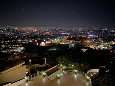 Skyline von Kampala