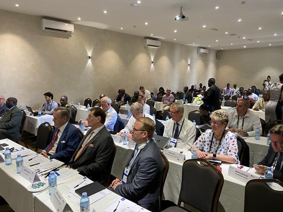 Konferenz in Kigali