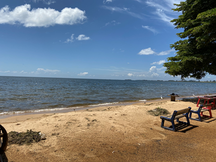 Strand am Victoriasee